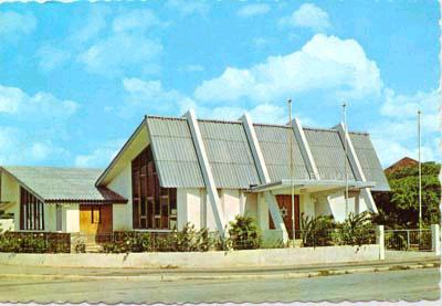 Bar Mitzvah Vacations' Aruba synagogue