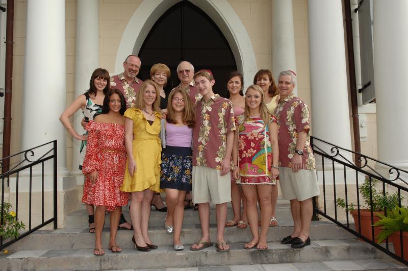 Bar Mitzvah Vacations Twin celebration, St. Thomas Synagogue, USVI