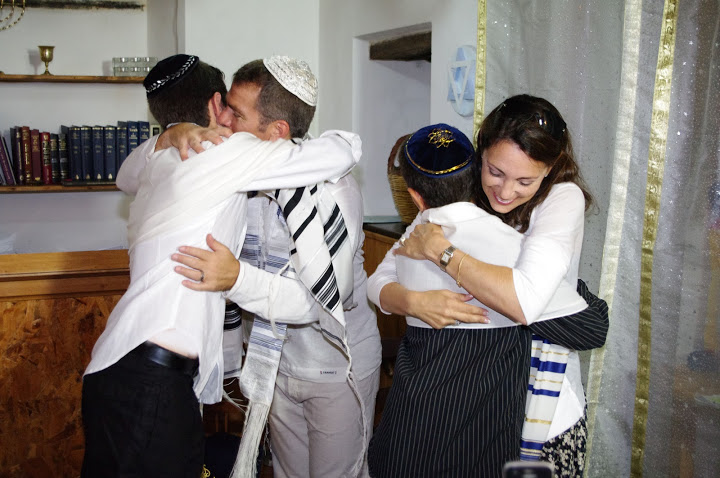 Destination Bar Mitzvah family in Italy